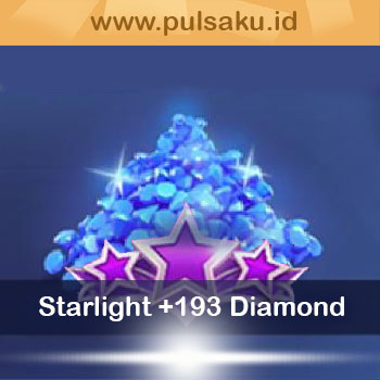 Topup Games Diamond Mobile Legend Pro - Starlight Member + 193 Diamond