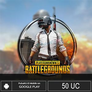 Topup Games PUBG Mobile - 50 UC
