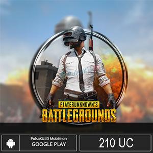 Topup Games PUBG Mobile - 210 UC