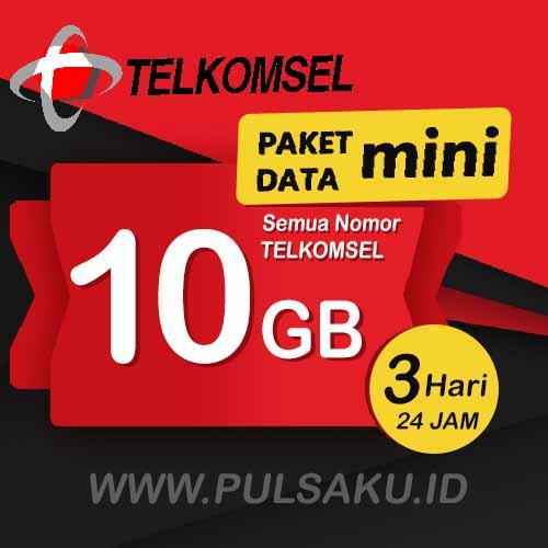 Paket Internet Telkomsel - Paket Data Mini 10GB