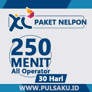 Paket Telpon XL - 250 Menit AllOpr, 30Hr