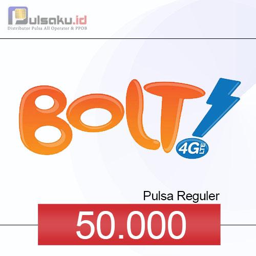 Pulsa Reguler BOLT - 50.000