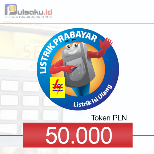 Token PLN PLN Prabayar - 50.000