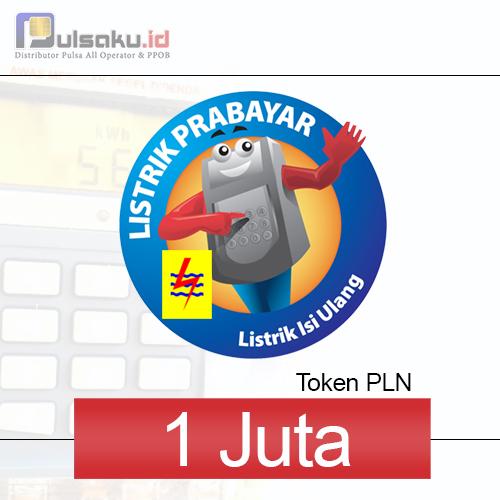 Token PLN PLN Prabayar - 1 Juta