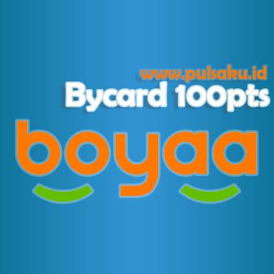 Voucher Game GAME BOYAA - Boyaa Bycard 100pts