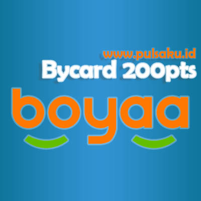 Voucher Game GAME BOYAA - Boyaa Bycard 200pts