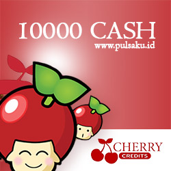 Voucher Game GAME CHERRY CREDIT - Cherry Credits 10000 Cash