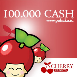 Voucher Game GAME CHERRY CREDIT - Cherry Credits 100000 Cash