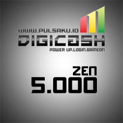 Voucher Game GAME DIGICASH - DigiCash 5000 Zen