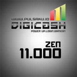 Voucher Game GAME DIGICASH - DigiCash 11000 Zen