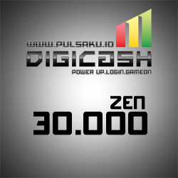 Voucher Game GAME DIGICASH - DigiCash 30000 Zen