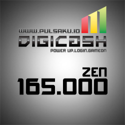 Voucher Game GAME DIGICASH - DigiCash 165000 Zen