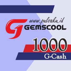 Voucher Game GAME GEMSCOOL - Gemscool 1,000 G-cash