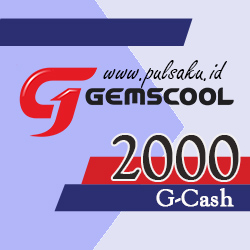 Voucher Game GAME GEMSCOOL - Gemscool 2,000 G-cash