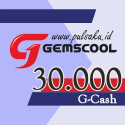 Voucher Game GAME GEMSCOOL - Gemscool 30,000 G-cash