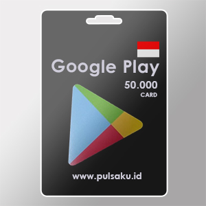 Voucher Game GAME GOOGLE CARD ID - Google Play ID 50rb