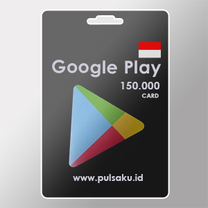 Voucher Game GAME GOOGLE CARD ID - Google Play ID 150rb
