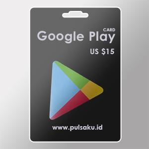 Voucher Game GAME GOOGLE CARD US - US $15