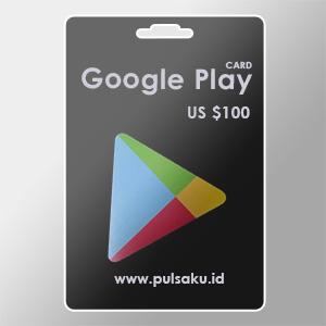 Voucher Game GAME GOOGLE CARD US - US $100