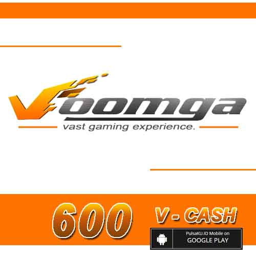 Voucher Game GAME VOOMGA GAMEWAVE - 600 V-Cash