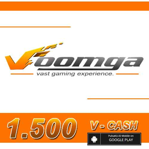 Voucher Game GAME VOOMGA GAMEWAVE - 1.500 V-Cash