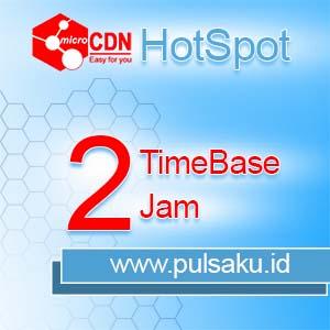 Voucher Hotspot microCDN Hotspot - TimeBase 2 Jam