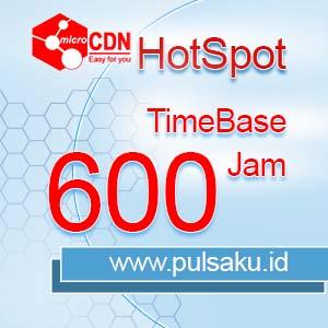 Voucher Hotspot microCDN Hotspot - TimeBase 600 Jam